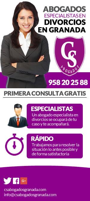Abogado especialista en divorcios en Granada